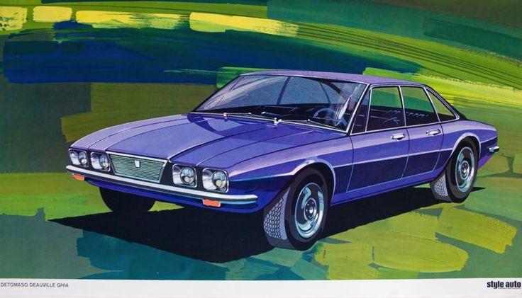 77 best detomaso di carrozzeria ghia images on pinterest for Mobilia 1970