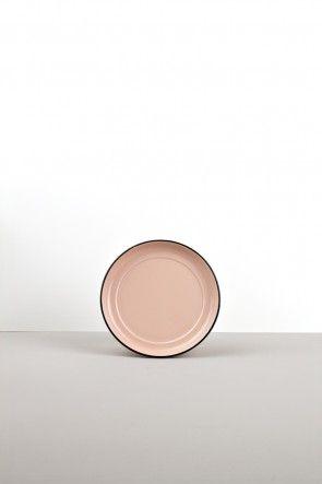 15cm pink saucer