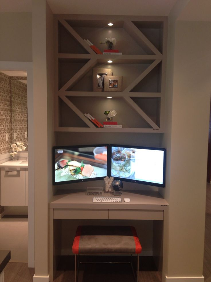 Kitchen niche desk idea from @polygonhomes #TheWindsor display