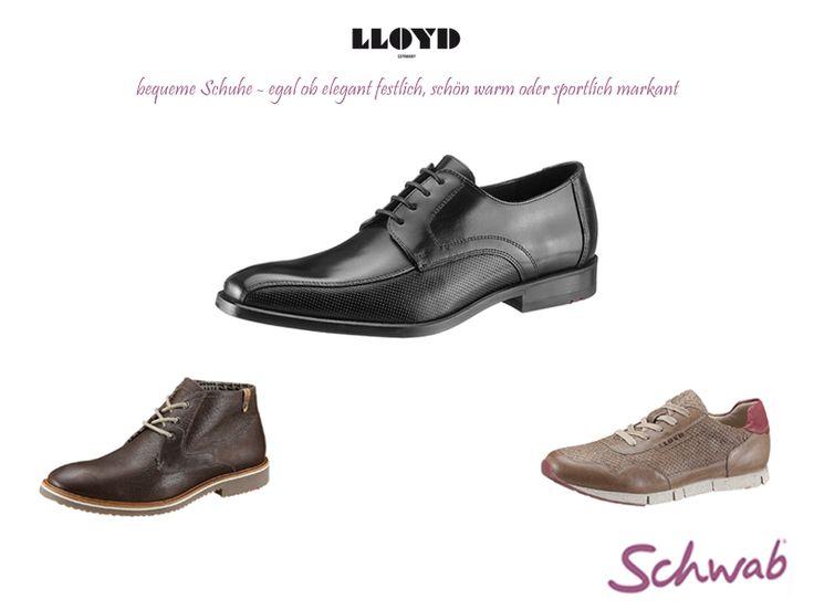 Edel und bequem für jede Situation - Schuhe von #Lloyd
