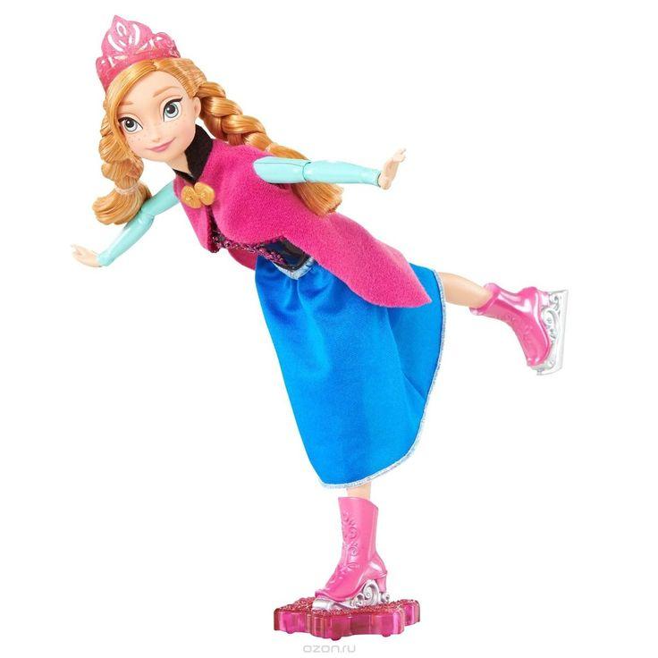 Disney Princess Кукла Холодное сердце Фигуристка Анна