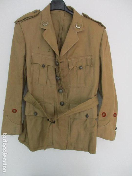 Militaria: Antiguo Traje - Guerrera + Pantalón Militar - Teniente - Regulares nº 2 - Melilla, Sahara Español - Foto 2 - 89035208