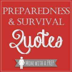 Preparedness & Survival Quotes