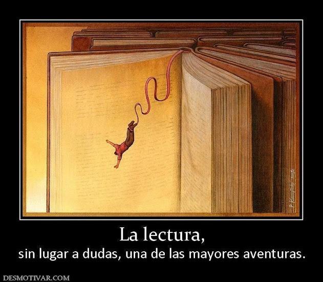 Aventurate a leer.
