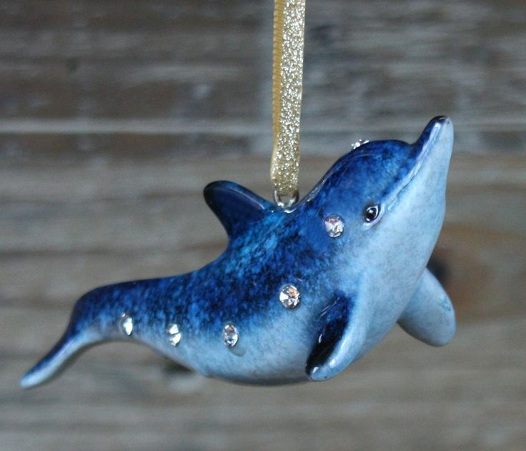 Shedd | Diamonds Dolphin Ornament Online Store