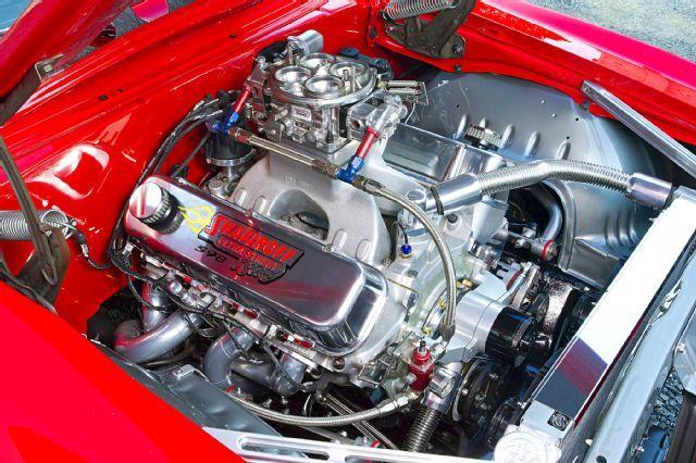 1969 Red Yenko Camaro Pro Street Big Block Engine