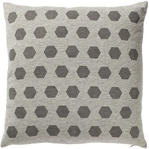 Cushion - Triangles - Silver