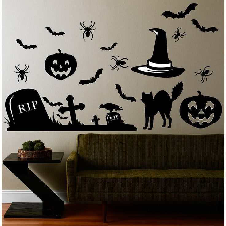 14 Best Halloween Themed Wall Decals Images On Pinterest | Dr. Who,  Halloween And Posts Part 69