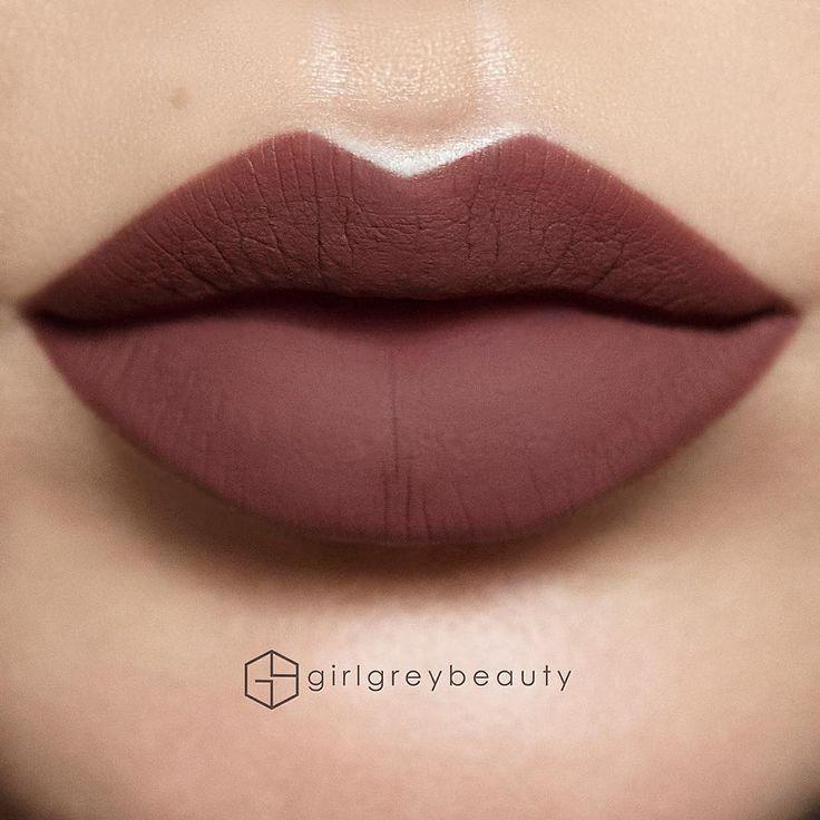 Allison liquid lipstick @girlgreybeauty  #anastasiabeverlyhills #abhallison