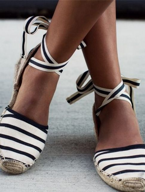 Alpargatas * Shoeinspiration * The Inner Interiorista