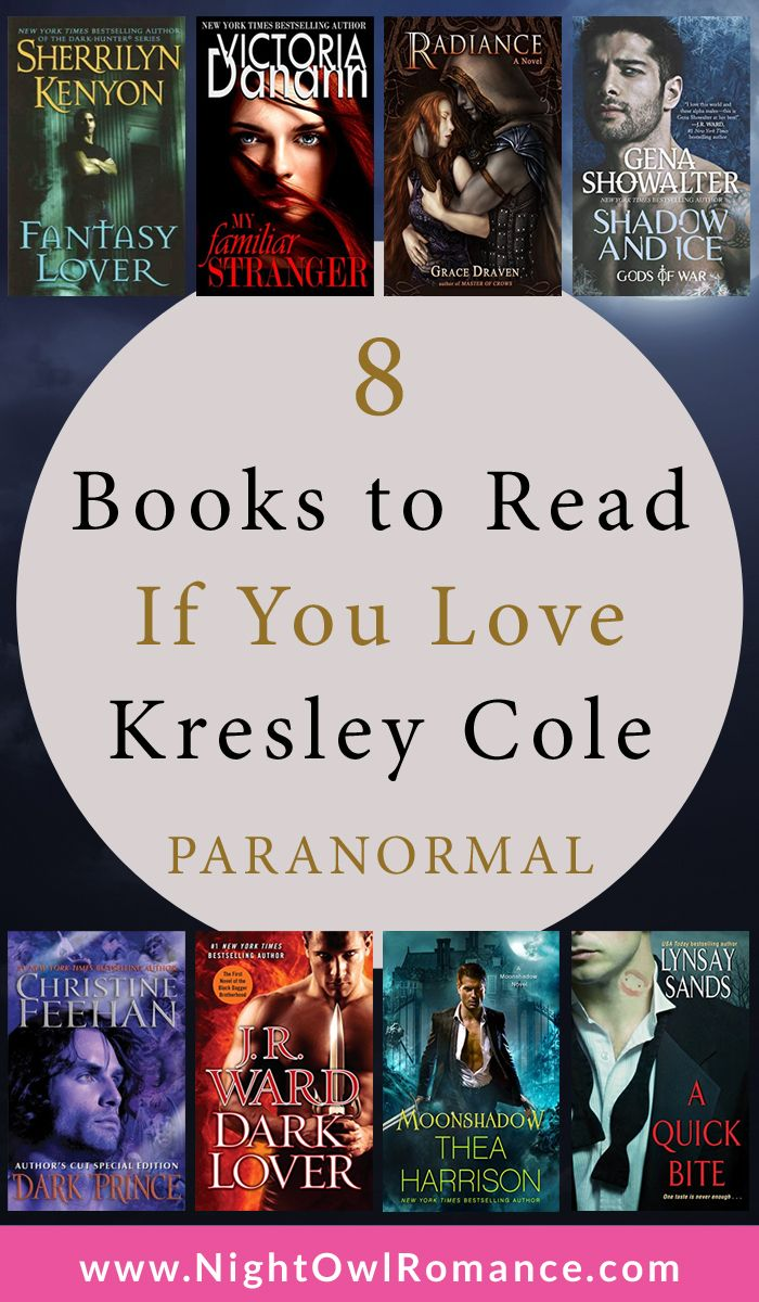 8 Books to Read If You Love Kresley Cole Paranormal Romance | The