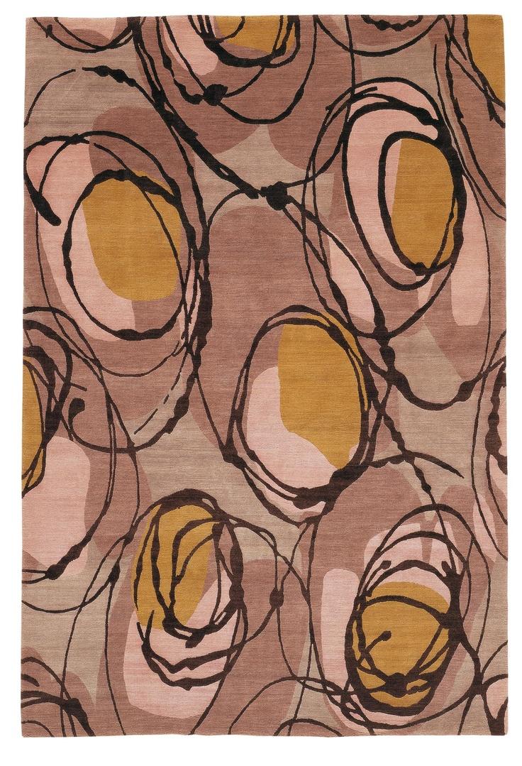 Elementi rug (2004) by Italian fashion design label Marni. via the Rug Company