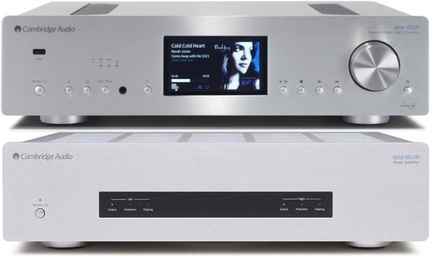 Cambridge Audio Azur 851N + 651W