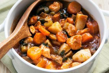 How to Make Slow Cooker Chicken and Potato Stew: Chicken Stew