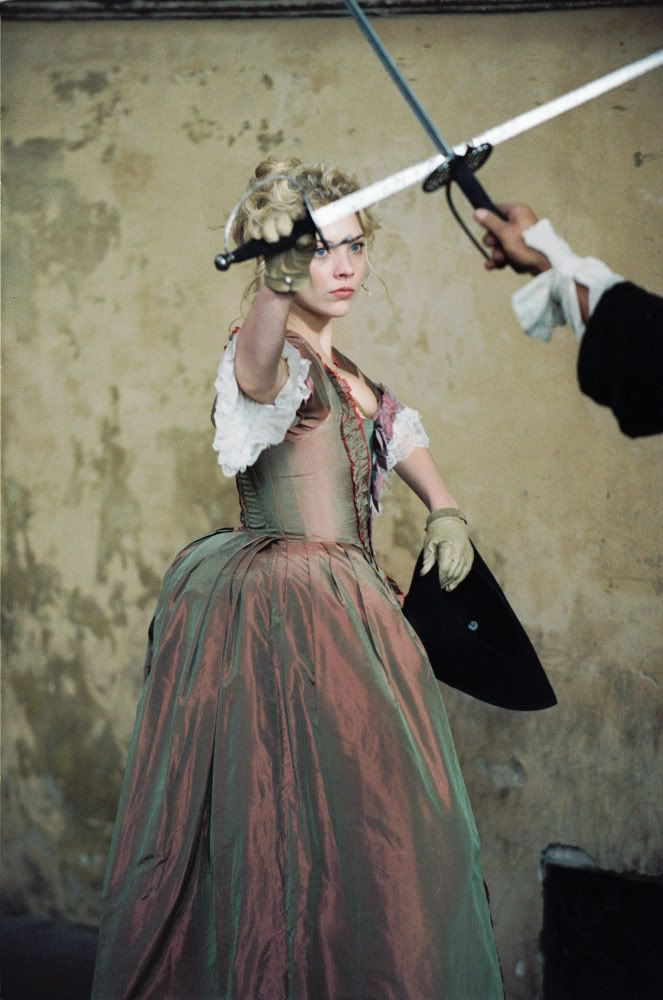 Auriana's daydreams, imagining herself inside the books again