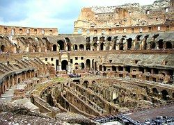Roma, Coliseo, Interior