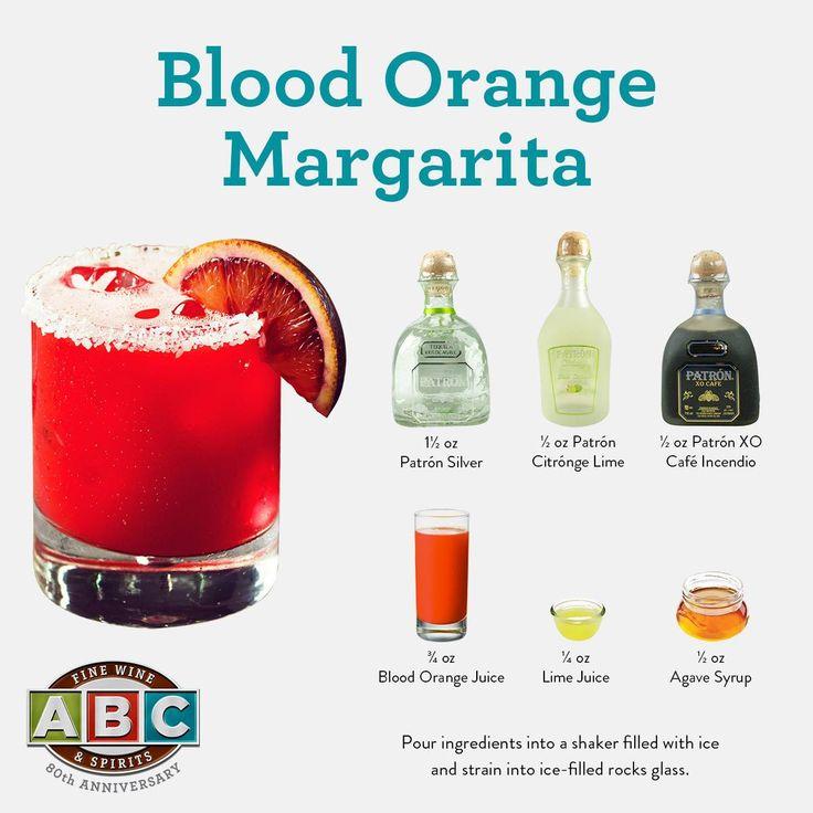 Blood Orange Margarita ft. Patron Tequila