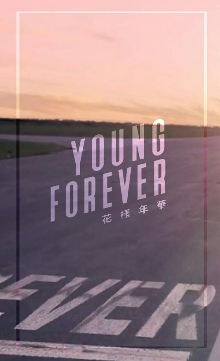 BTS || YOUNG FOREVER WALLPAPER