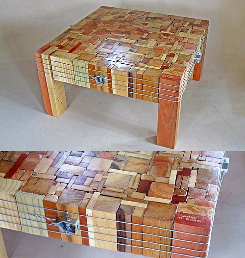 MY ELXI - Mesas de madera reciclada