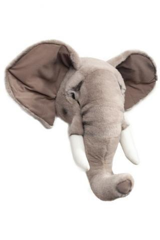Djurhuvud - Elefant