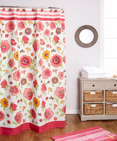 17 Best Images About Shower Curtain On Pinterest Bathrooms Decor Floral Shower Curtains And