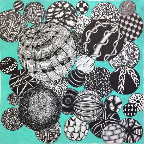 texture balls lesson. great for texture unit