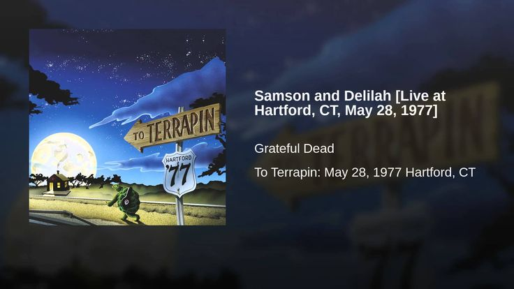 (Song of the day June 4) Samson and Delilah. Grateful Sunday song of the day. This Hartford show is the show that Dark Star Orchestra revisited on May 28 at the Jubilee this year.
