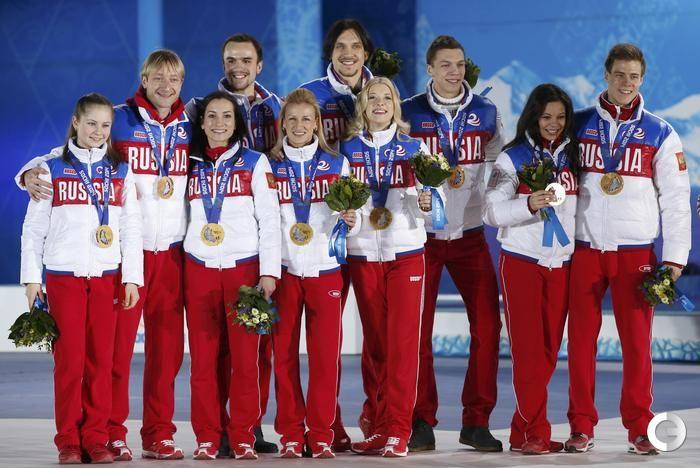 Все российские медалисты Сочи-2014 - Фото - Сочи-2014 - СПОРТ-ЭКСПРЕСС