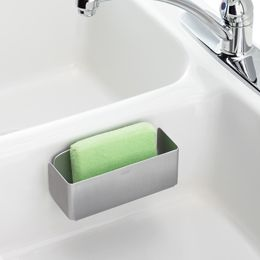 Good Grips® Aluminum Sink Basket - I love it when everything has a home! Plus no more water all over the counters.