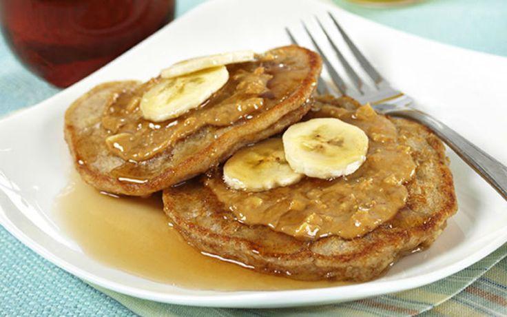 Panqueca de banana supernutritiva para o café da manhã