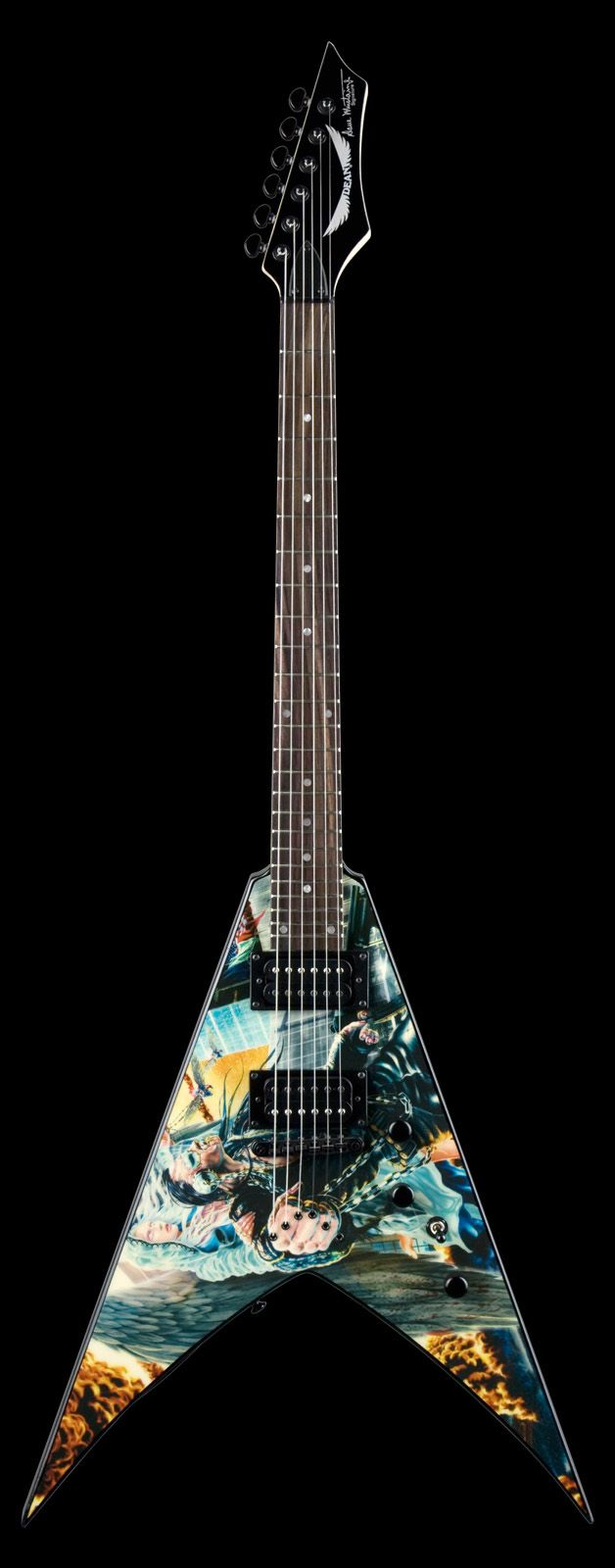Dean Dave Mustaine United Abominations Graphic
