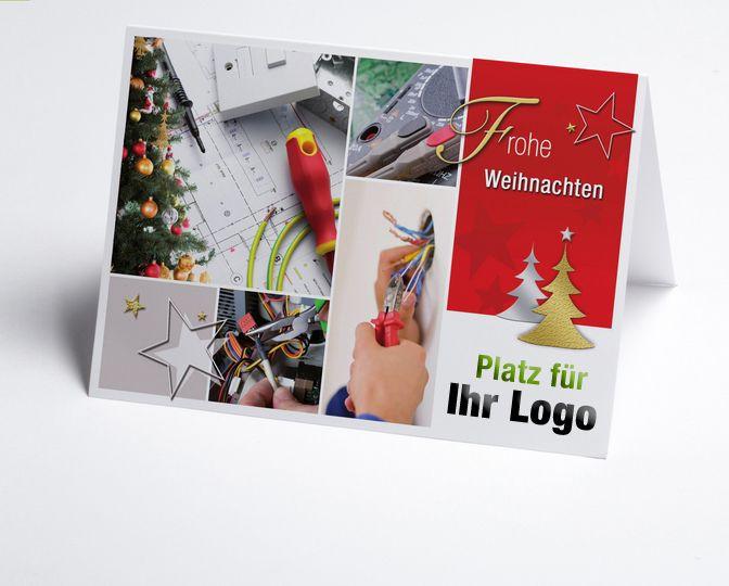 16 best images about branchen weihnachtskarten bau und for Weihnachtskarten mit firmenlogo