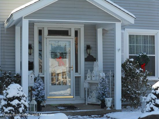 Winter Decorating Ideas for Your Porch | Porch decorating