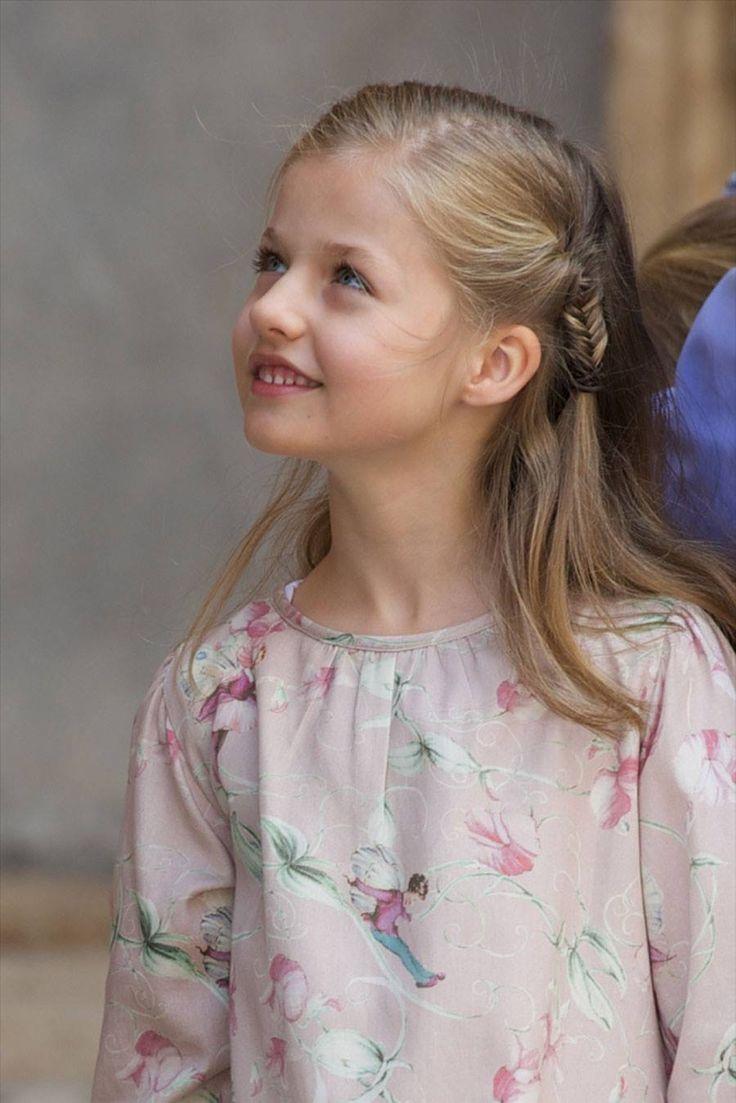 Princesa Leonor de España,mañana dia 31 de octubre,de 2014,cumplirá nueve años......Princesa de Asturias y futura reina de España.❤️