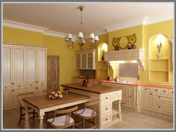 Amber Yellow Granite Kitchen Countertop Ideas And Granite Countertop Colors