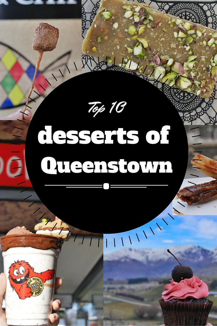 Looking for the best desserts in Queenstown, New Zealand? Look no further! Here's a list of the top 10 desserts in the adrenaline capital of the world! thesweetwanderlust.com