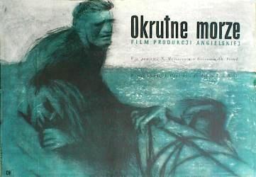 Designer: Palka. Title: The Cruel Sea [Okrutne Morze]. 1954. £400.
