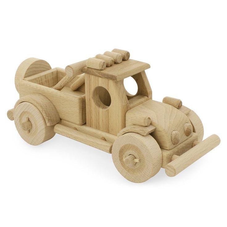 Wooden Toy Truck - Happy Go Ducky