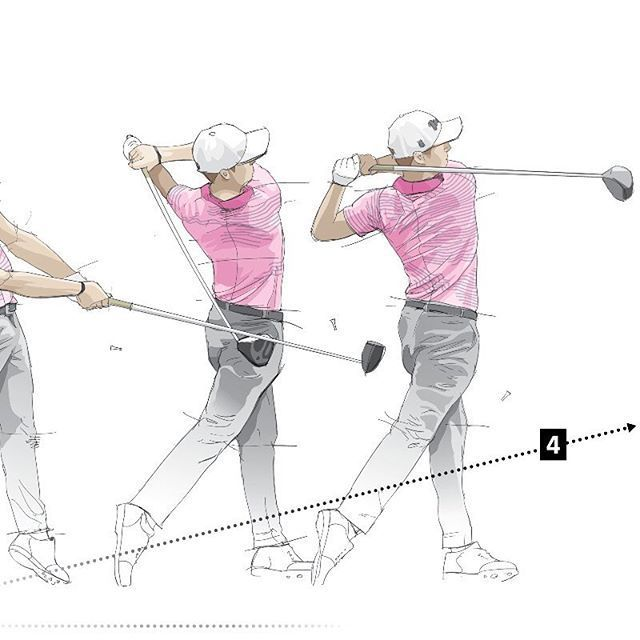 New piece in today's Wall Street Journal: How @justinthomas34 became one of golf's longest drivers. We break down the mechanics #pga #golf #justinthomas #illustration #infographic #watercolor #vector #Golf-SwingIntoAction...