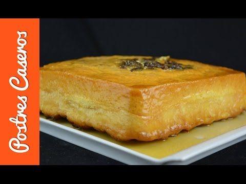 Pudin de pan con pasas y ron | Javier Romero - YouTube