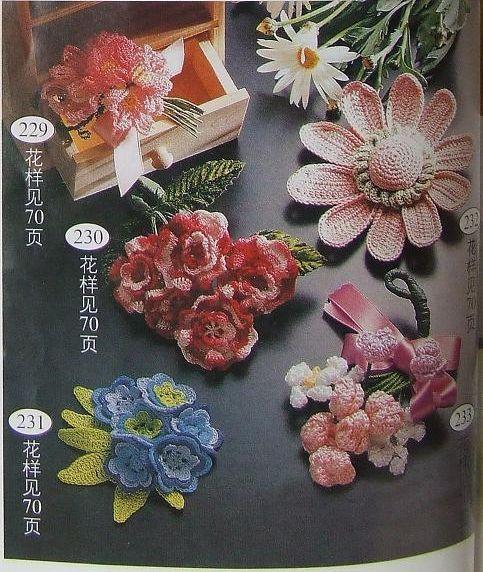 crochet flowers   make handmade, crochet, craft