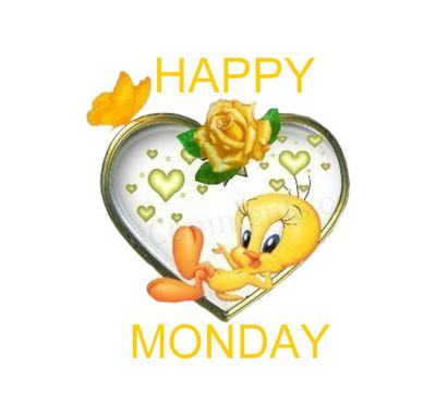 tweey bird happy monday | happy tweety hitupmyspots com auto post this image 1 2 3