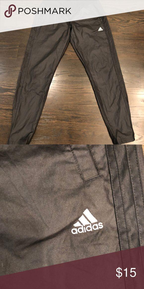 Addidas Climalite Women's Windbreaker Pants Black size Medium Pants. Only worn once. adidas Pants Track Pants & Joggers