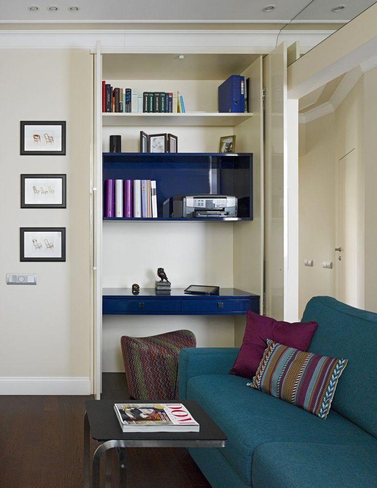 Kétgyermekes család 80nm-es lakása, színes és klasszikus elemekkel