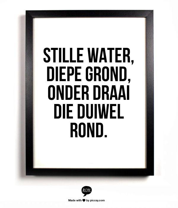 Stille water