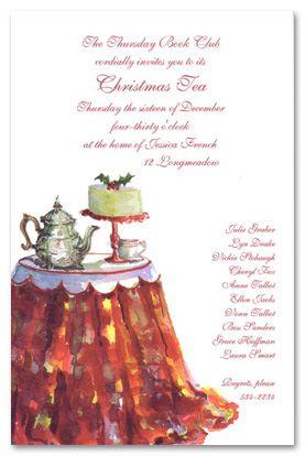 202cfb2455c5a8a0935e72a649caa540 christmas tea party tea tables 16 best ladies christmas tea event ideas images on pinterest,Christmas Tea Party Invitations