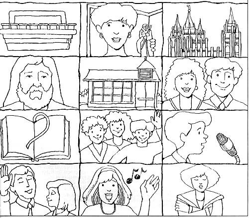 500 best images about LDS or Religious Coloring Pictures on