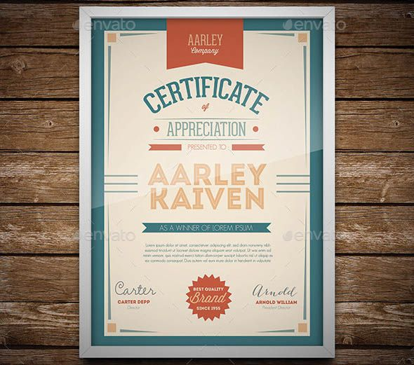 Best 25+ Certificate templates ideas on Pinterest Gift - corporate certificate template