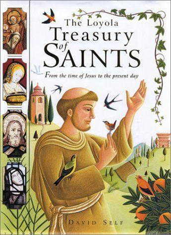 The Loyola Treasury of Saints by David Self,http://www.amazon.com/dp/0829417850/ref=cm_sw_r_pi_dp_awj5sb0JFW9SNZYK