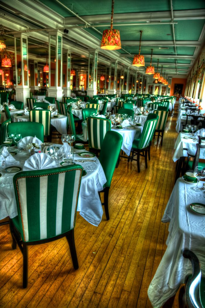 The dining room at the Grand Hotel on Mackinac Island. Photo by @Joey Lax-Salinas